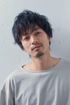 黒髪×無造作パーマ 【イチ】