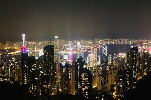 100万ドルの夜景in香港