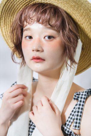 夏ヘア☆麦わら帽子アレンジ